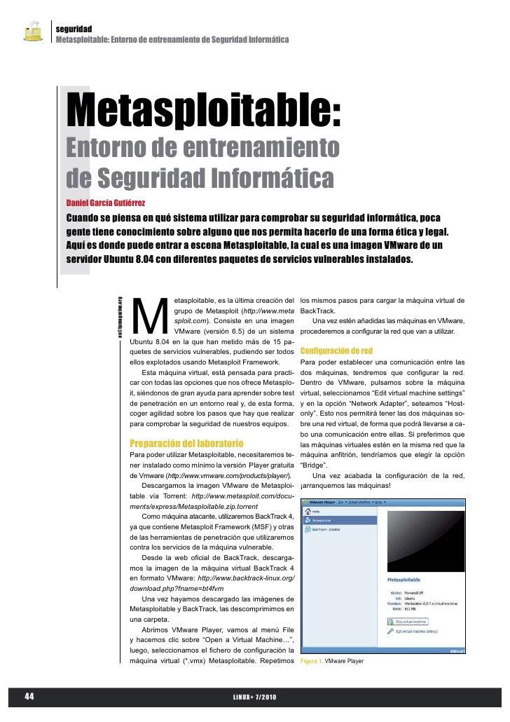 Karmetasploit - Entorno de entrenamiento de seguridad informática
