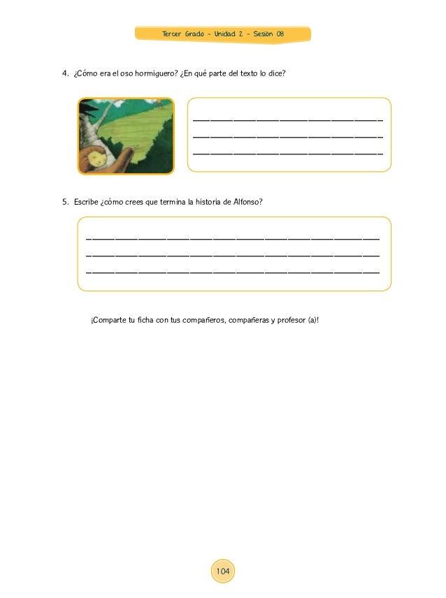 Documentos Primaria Sesiones Unidad02 Integradas Tercer