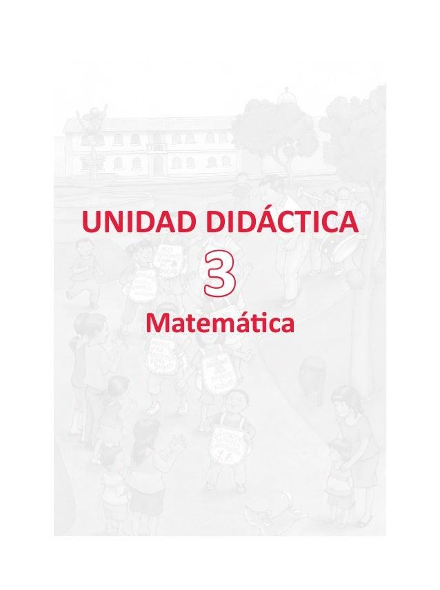 """Unidad Didáctica N° 03: """"Tenemos derechos"""""""