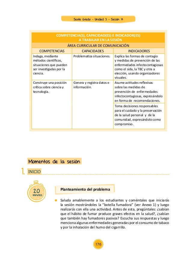 COMPETENCIA(S), CAPACIDAD(ES) E INDICADOR(ES) A TRABAJAR EN LA SESIÓN ÁREA CURRICULAR DE COMUNICACIÓN COMPETENCIAS CAPACID...