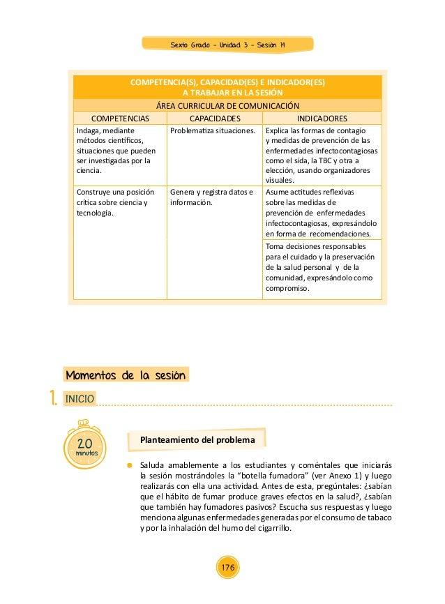 Documentos primaria-sesiones-unidad03-sexto grado-integrados-6g-u3-sesion14 Slide 2