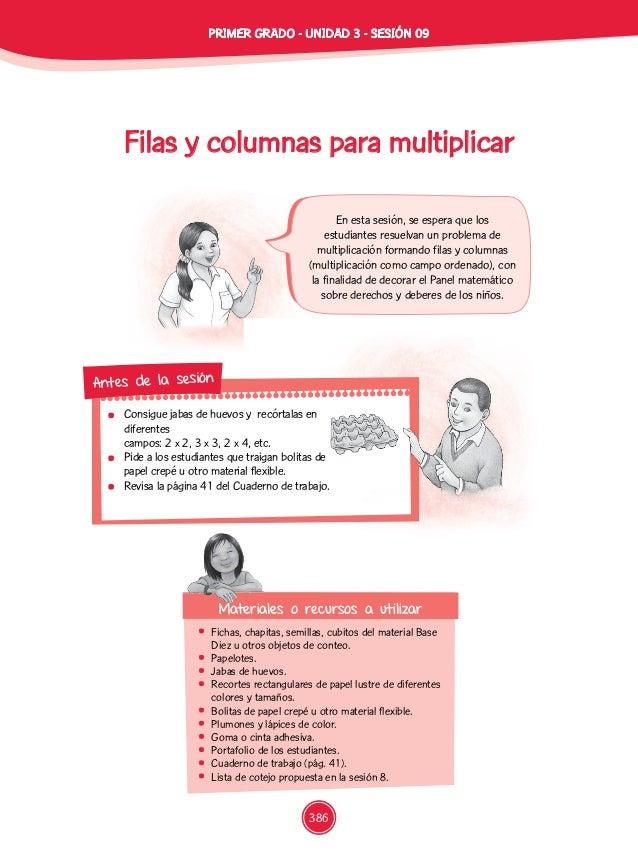 Filas y columnas para multiplicar  Fichas, chapitas, semillas, cubitos del material Base Diez u otros objetos de conteo. ...
