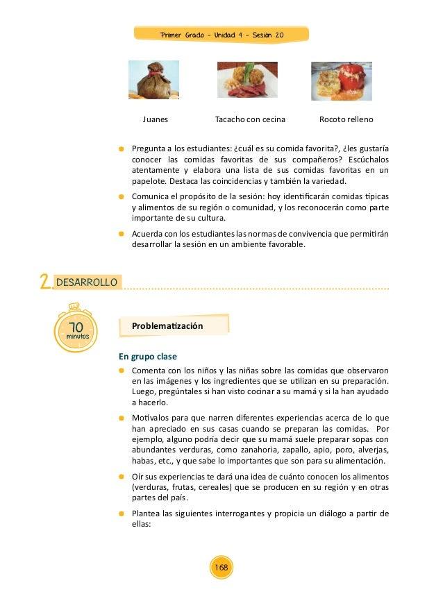 Documentos primaria sesiones unidad04 primer grado for Como se cocinan las habas