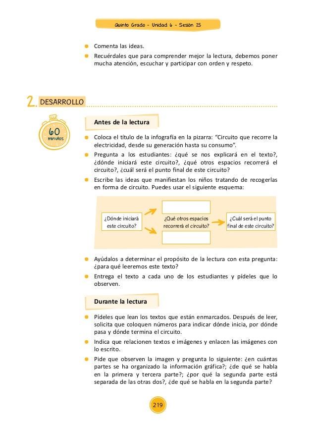 Circuito Que Recorre La Electricidad Desde Su Generación Hasta Su Consumo : Documentos primaria sesiones unidad quinto grado