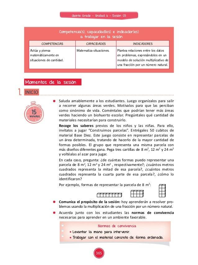 Documentos primaria-sesiones-unidad06-quinto grado-matematica-5g-u6-mat-sesion03 Slide 2