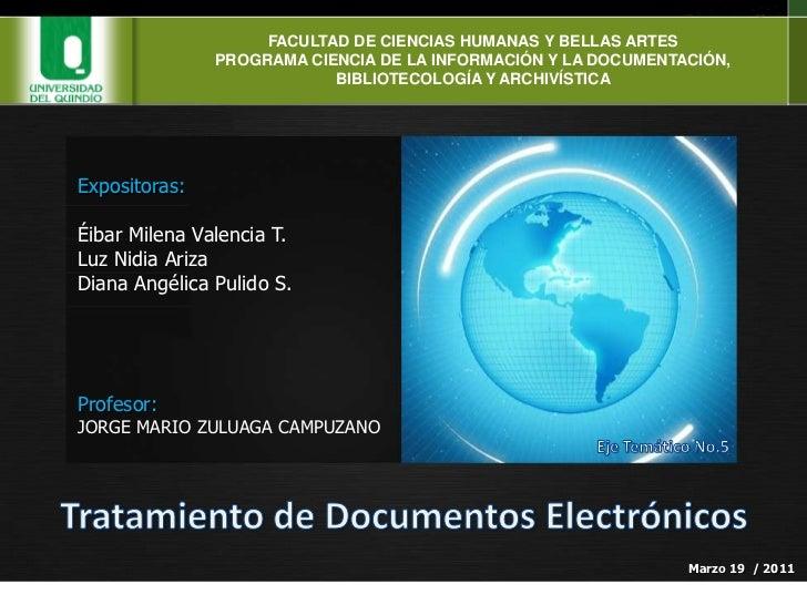 FACULTAD DE CIENCIAS HUMANAS Y BELLAS ARTES<br />PROGRAMA CIENCIA DE LA INFORMACIÓN Y LA DOCUMENTACIÓN, BIBLIOTECOLOGÍA Y ...