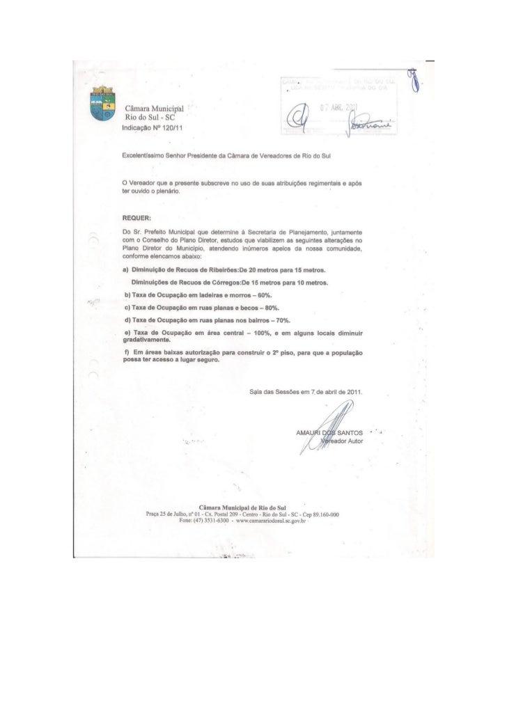 Documentos plano diretor
