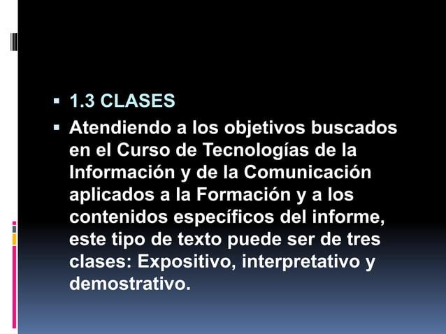  1.3 CLASES  Atendiendo a los objetivos buscados en el Curso de Tecnologías de la Información y de la Comunicación aplic...
