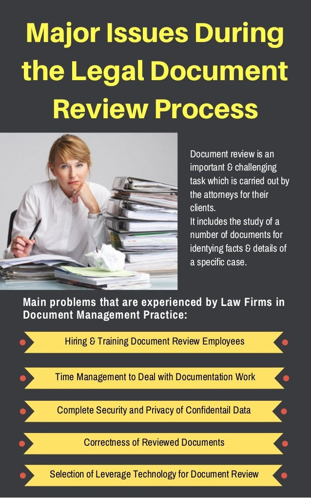 A Practical Guide To Manage Legal Document Review Process - Legal document review