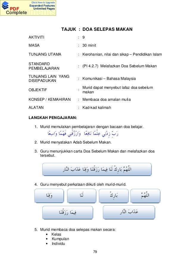 Documents Tips Buku Panduan Aktiviti Pendidikan Islam Pra Sekolah