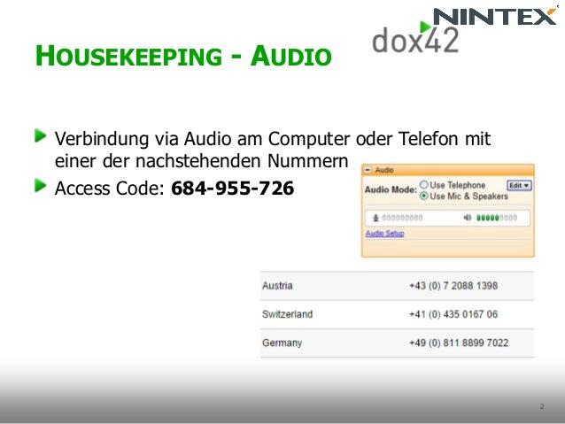 Documents for Everyone mit Nintex & dox42 Slide 2