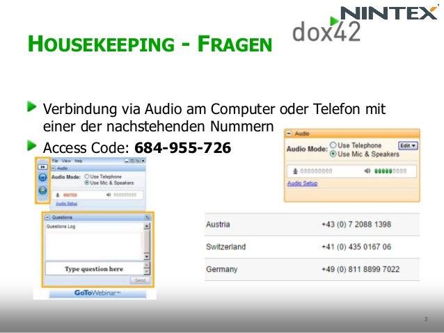 Documents for Everyone mit Nintex & dox42 Slide 3