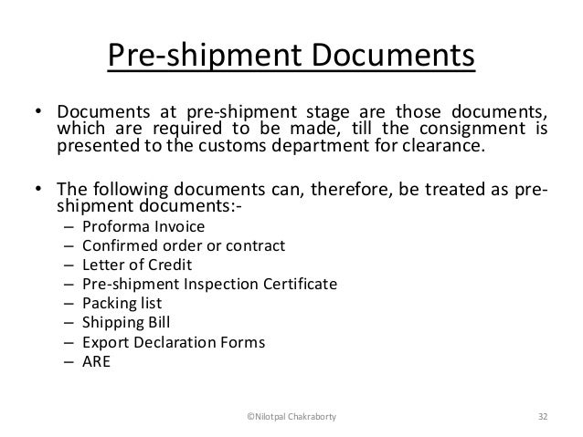 Image result for Shipping Documents List