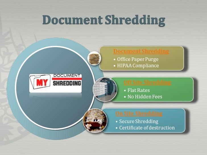 residential document shredding With document shredding for residential
