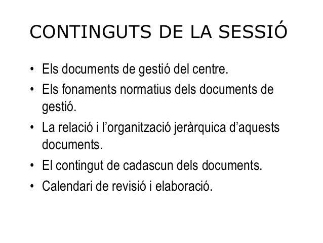 Documentació bàsica de les Llars d'Infants -  Slide 2