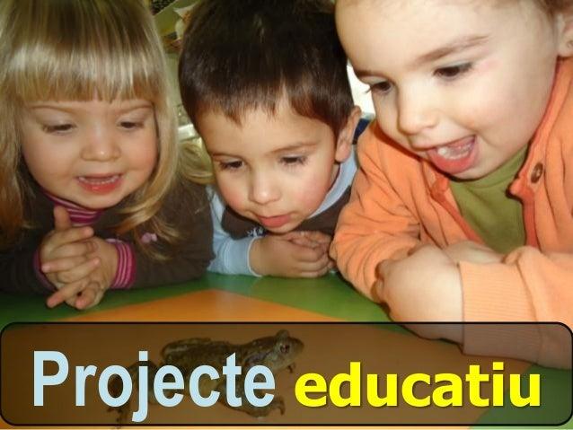 Documentació bàsica de les Llars d'Infants -  Slide 3