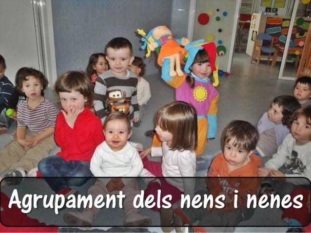 Agrupament dels nens i nenes