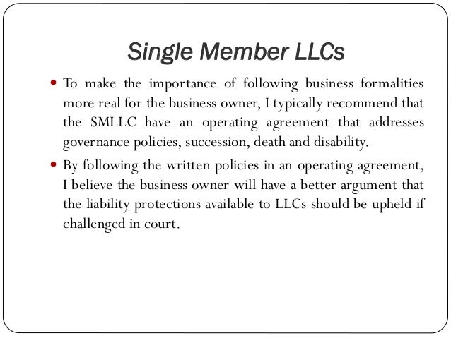 Documents Necessary When Forming An Llc