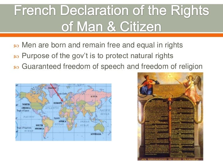 Declaration of the Rights of the Man and of the Citizen of 1793