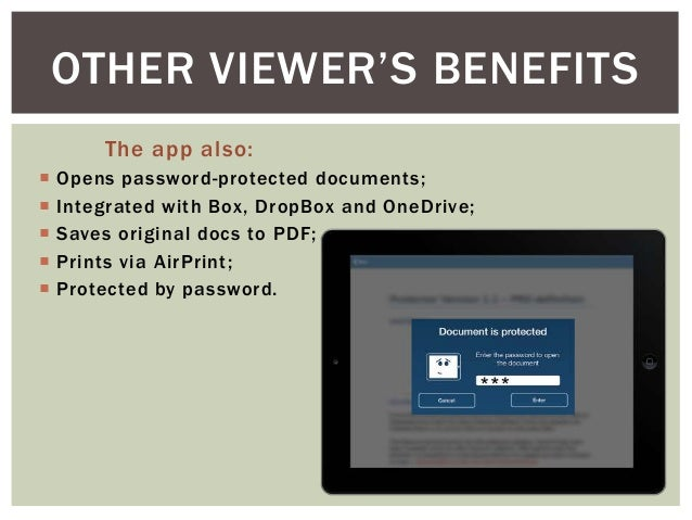 open pdf in ipad with default pdf viewer