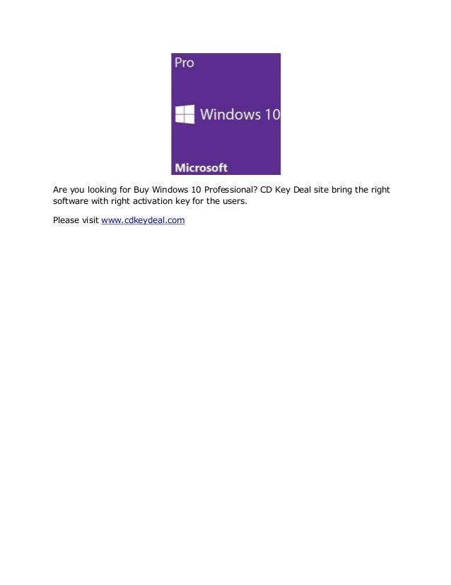 windows 10 pro cd key activation
