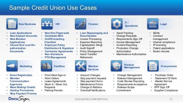 docusign for credit unions increase member satisfaction with esignatu u2026