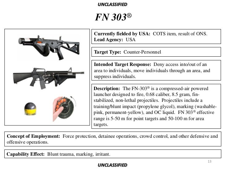 Non Lethal Weapons Reference Book 2011