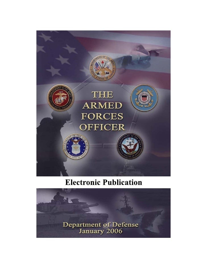 FOREWORD                       General Peter Pace, United States Marine Corps                          Chairman of the Joi...