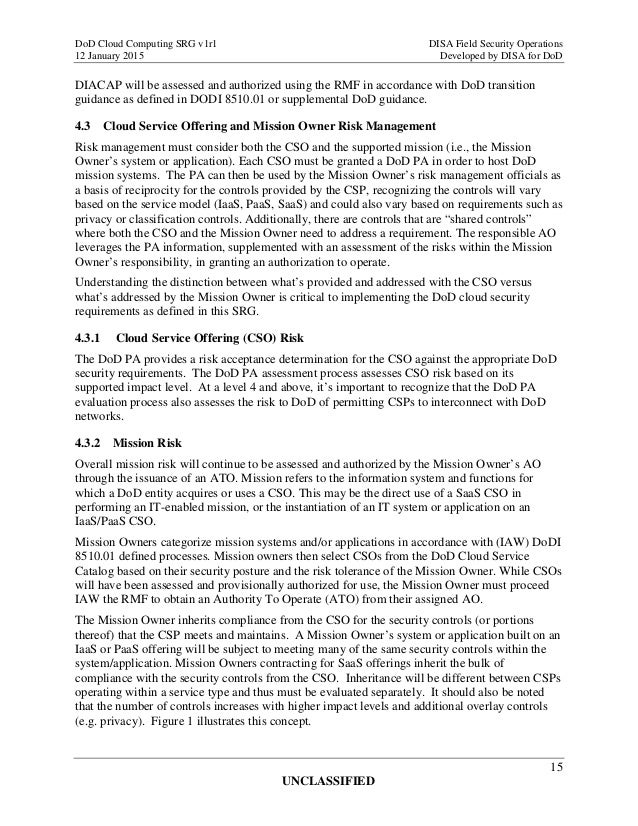 Dod updates cloud requirements guide - fcw.
