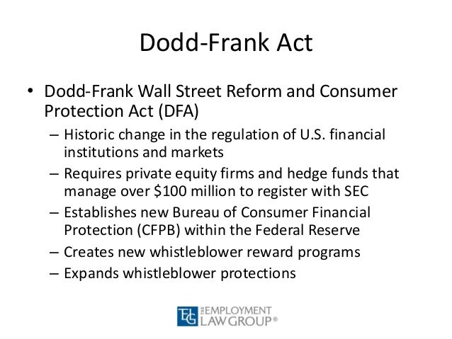 the effectiveness of dodd frank act The dodd-frank act has broad and deep implications that will touch every corner of financial services and multiple other industries this site, developed and maintained by attorneys at stinson leonard street, is dedicated to making sense of this complex legislation and helping businesses understand how it will affect them specifically.