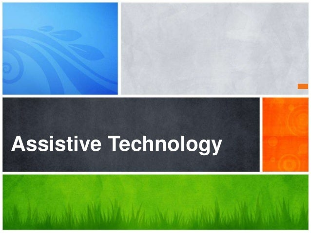 What's Your Message?Assistive Technology