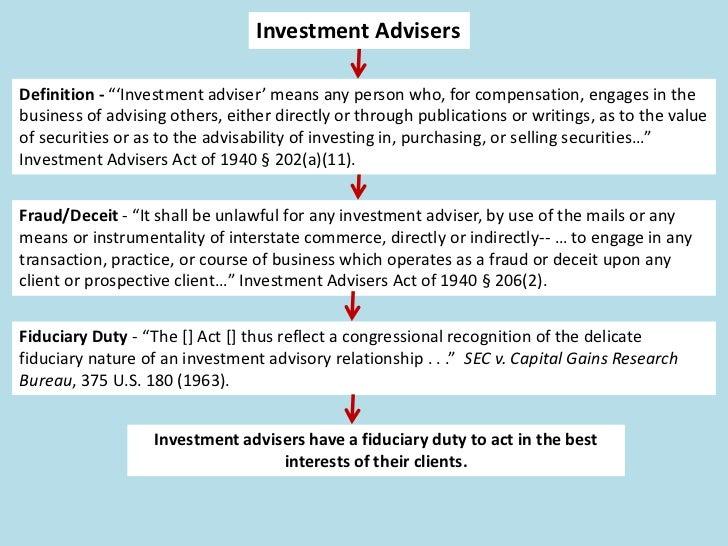 "Broker-DealersDefinition - ""The term 'broker'            Definition - The term ""dealer"" means anymeans any person engaged ..."