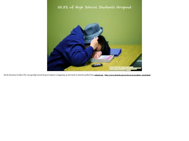 """35.3% of High School Students dropout  Photo Credit: <a href=""""http://www.flickr.com/photos/ 40645538@N00/6961676525/"""">Pink ..."""