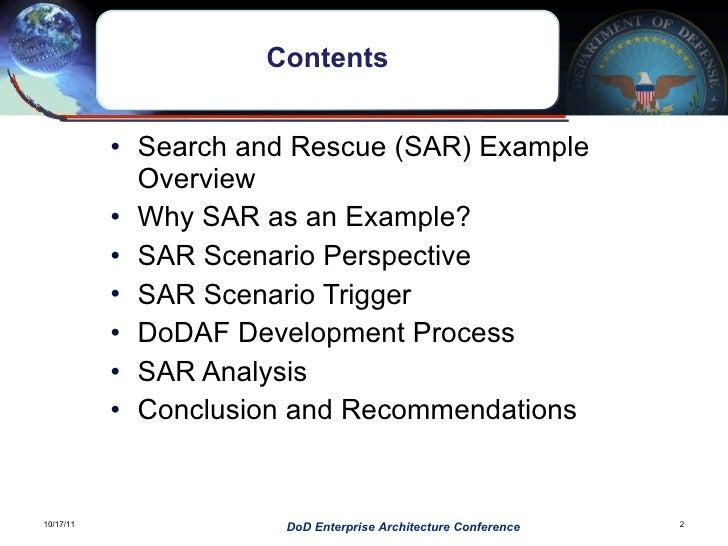DOD EA conference DoDAF in Action Slide 2
