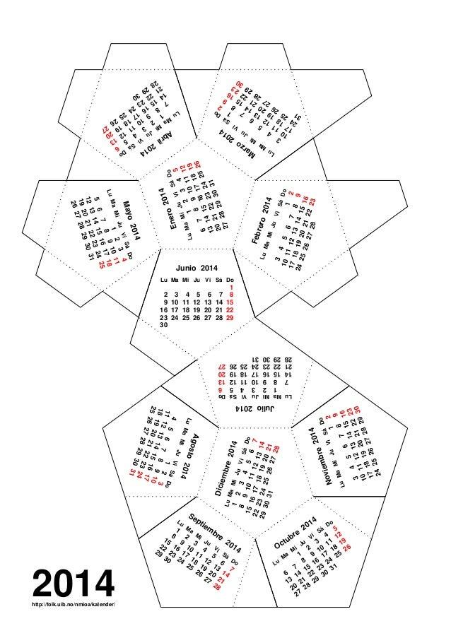 Dodecaedro 2014