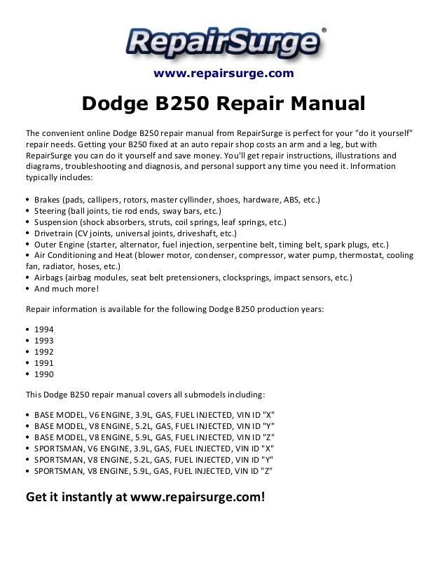 1990 dodge b250 van wiring diagram schematic schematic diagrams rh bestkodiaddons co Dodge B350 Van Electrical Wiring for Dodge Caravan