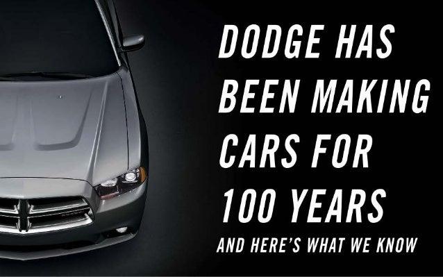 FCA - 6 May - Dodge brand Slide 3