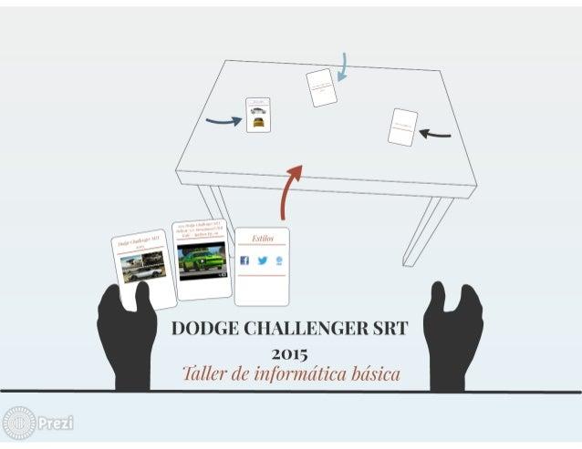 Dodge challenger srt 2015
