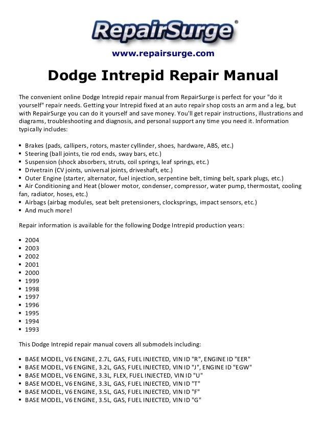 1994 Chrysler Concorde Wiring Diagrams - Wiring Diagram
