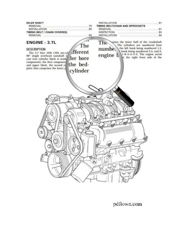 dodge ram 1995 2009 repair manual rh slideshare net 2009 dodge ram 1500 model service repair manual 2009 dodge ram 3500 service manual