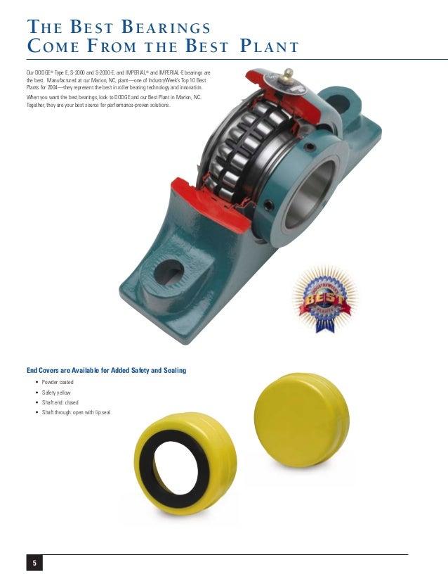 Dodge S-2000 Roller Bearings Brochure