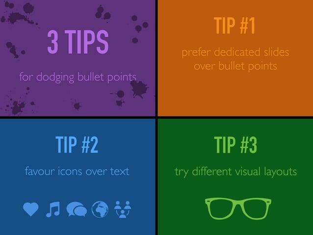 slides visuals photos