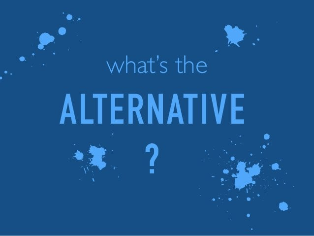 what's the 1 3 5 l ALTERNATIVE ?