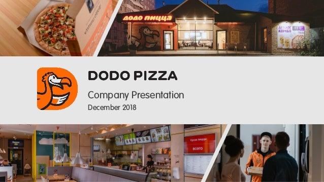 Company Presentation December 2018