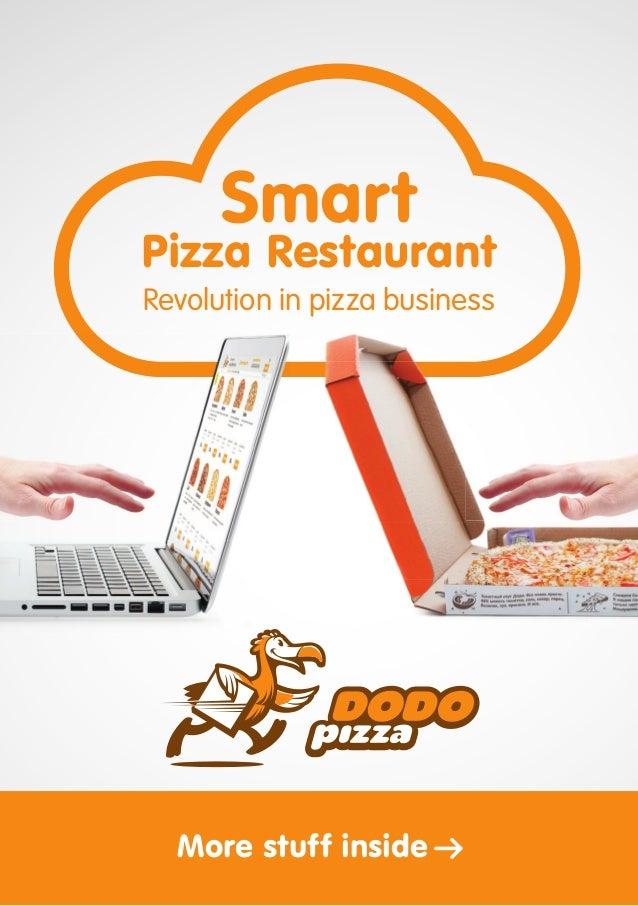 Revolution in pizza business Pizza Restaurant Smart More stuff inside