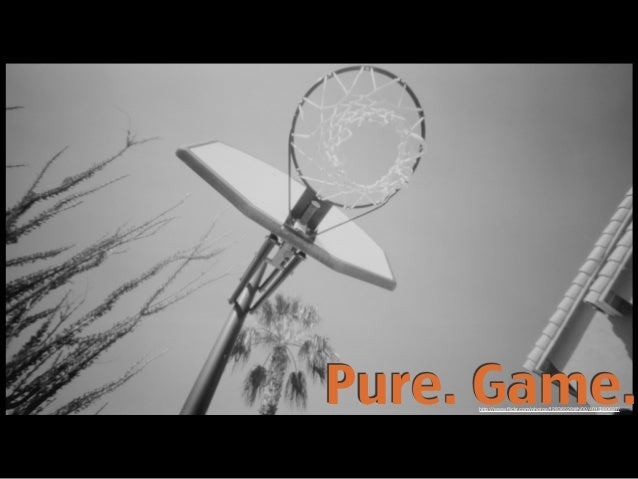 Pure. Game.http://www.flickr.com/photos/12836528@N00/4013380697/
