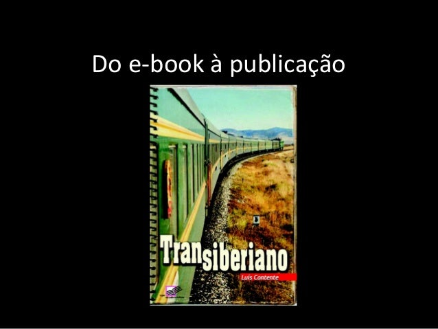 Do e-book à publicação