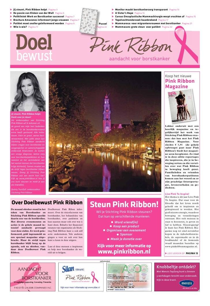 Jij steunt, Pink Ribbon helpt Pagina 3                                                                                    ...