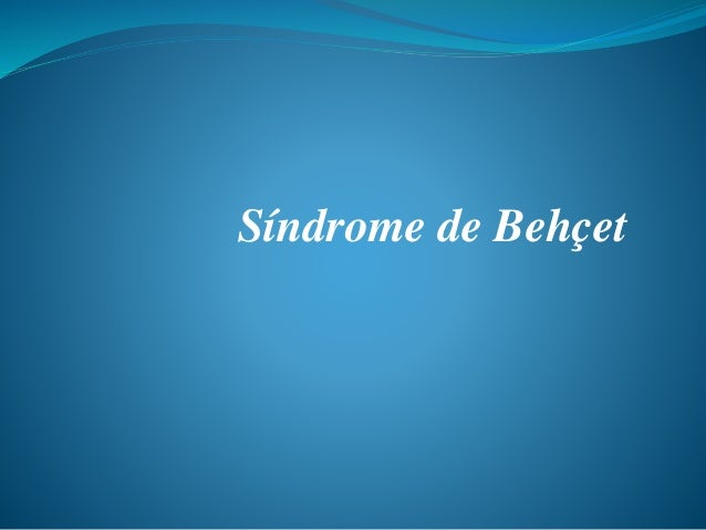 Síndrome de Behçet