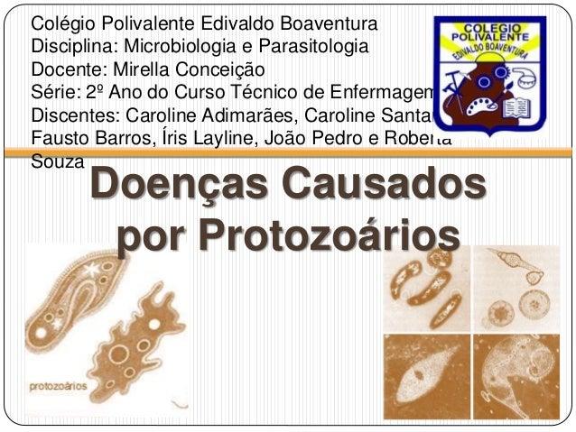 Colégio Polivalente Edivaldo Boaventura Disciplina: Microbiologia e Parasitologia Docente: Mirella Conceição Série: 2º Ano...